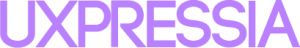 UXPressia logo in purple