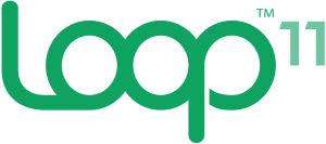 Logo for Loop in green