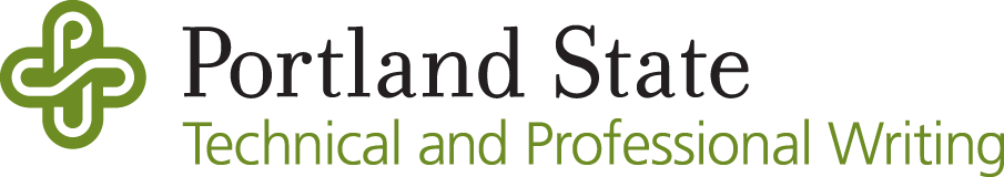 logo for Portland State University Technical and Professional Writing Program