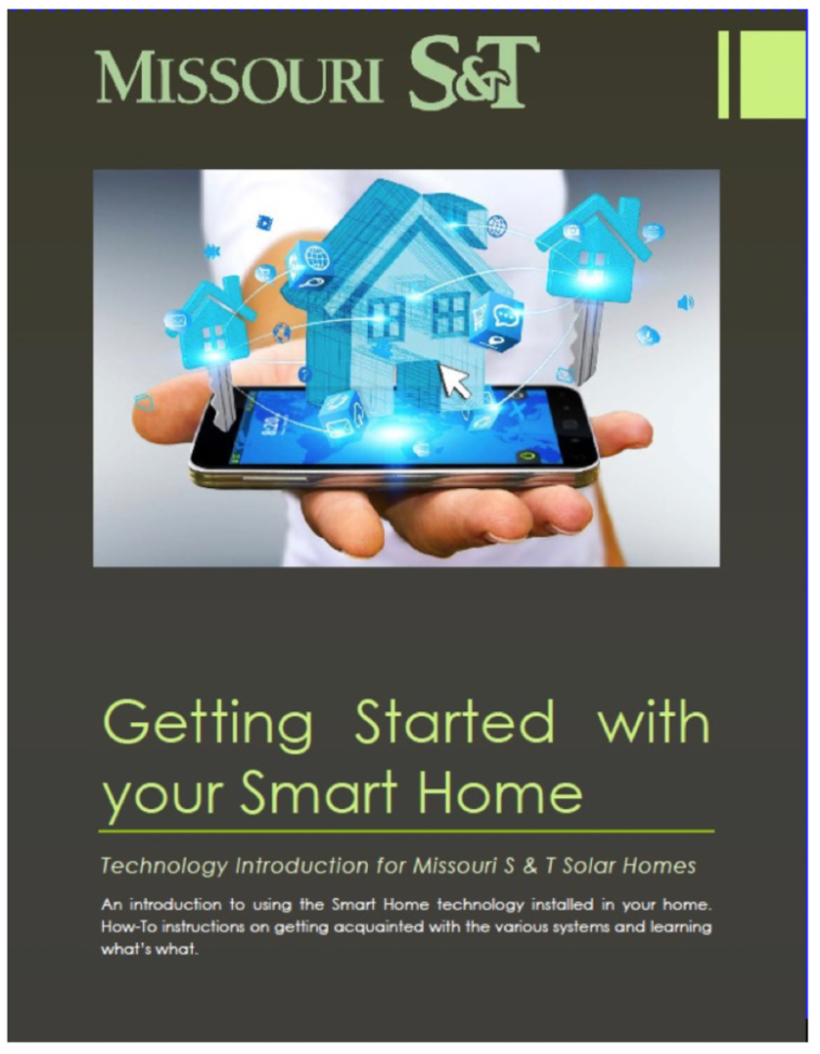 A document given to study participants that describes the capabilities their various smart home devices and provides links to instructions for installing cell phone control apps.
