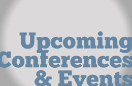 Upcoming Conferences and Events
