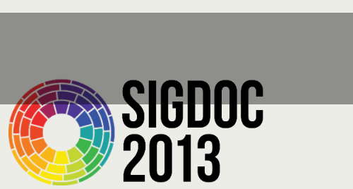 SIGDOC 2013 Conference